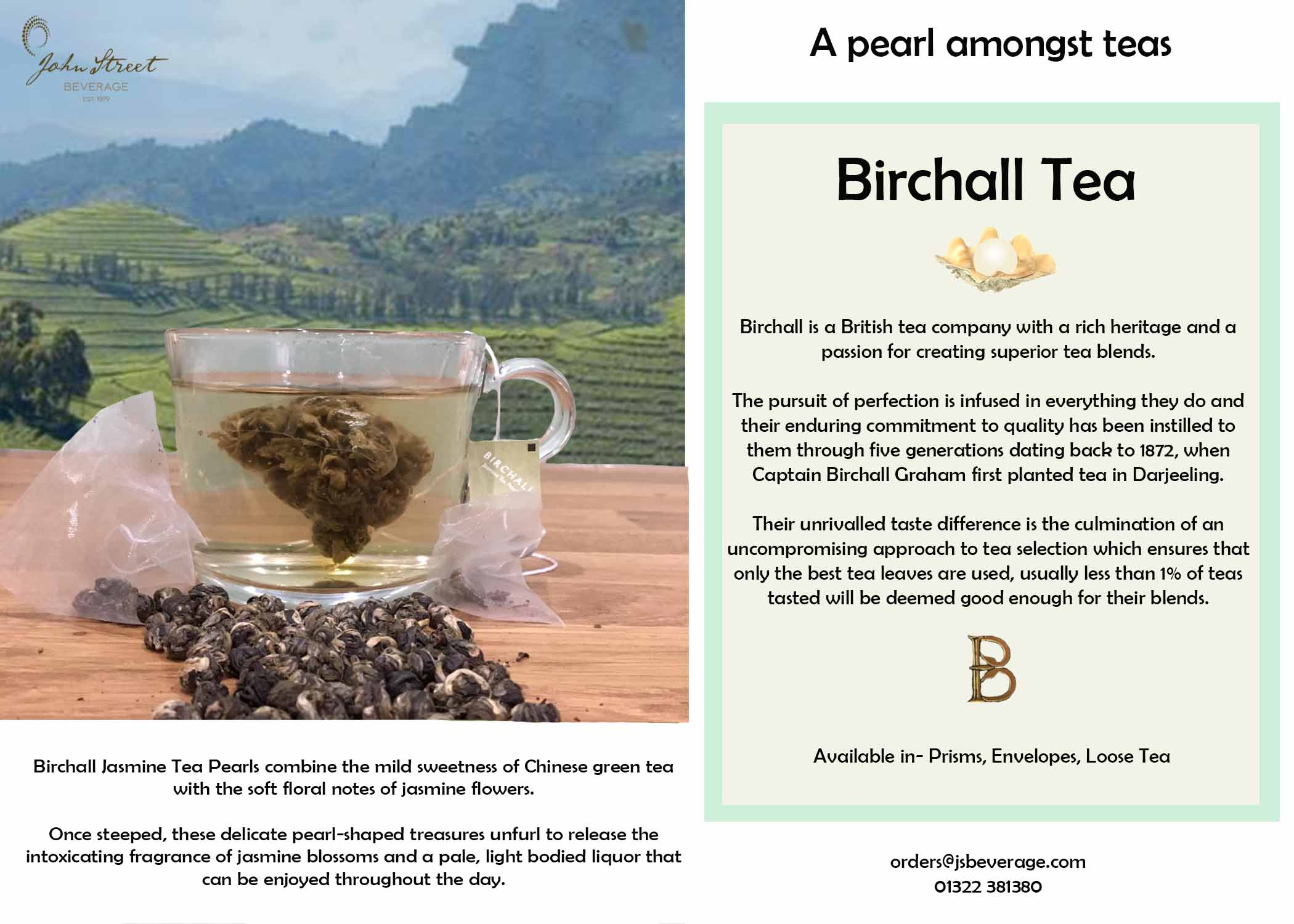 Birchall Jasmine Tea Pearls