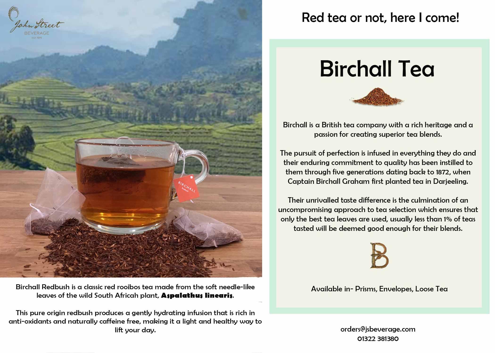 Birchall Redbush Tea