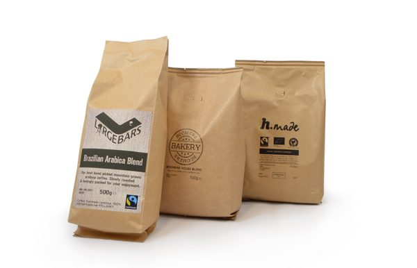 private label coffee brown bag selection