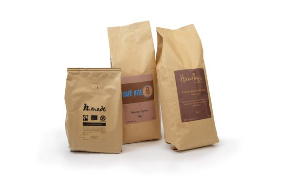 private label coffee bag selection
