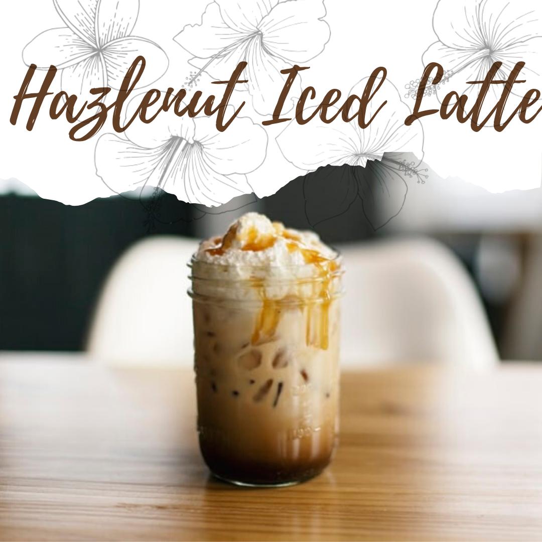 Hazlenut Iced Latte