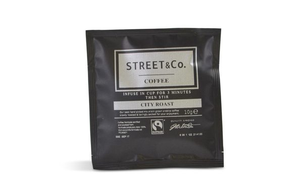street and co Coffee bag