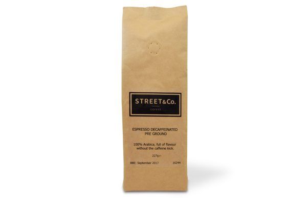 street and co decaff pre ground
